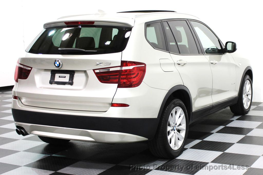 2014 BMW X3 CERTIFIED X3 xDrive28i AWD TECH CAMERA NAVIGATION - 16369473 - 30