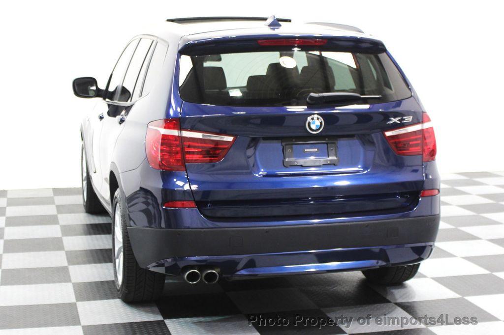 Used BMW X CERTIFIED X XDRIVEi AWD TECH NAVIGATION At - Blue bmw x3