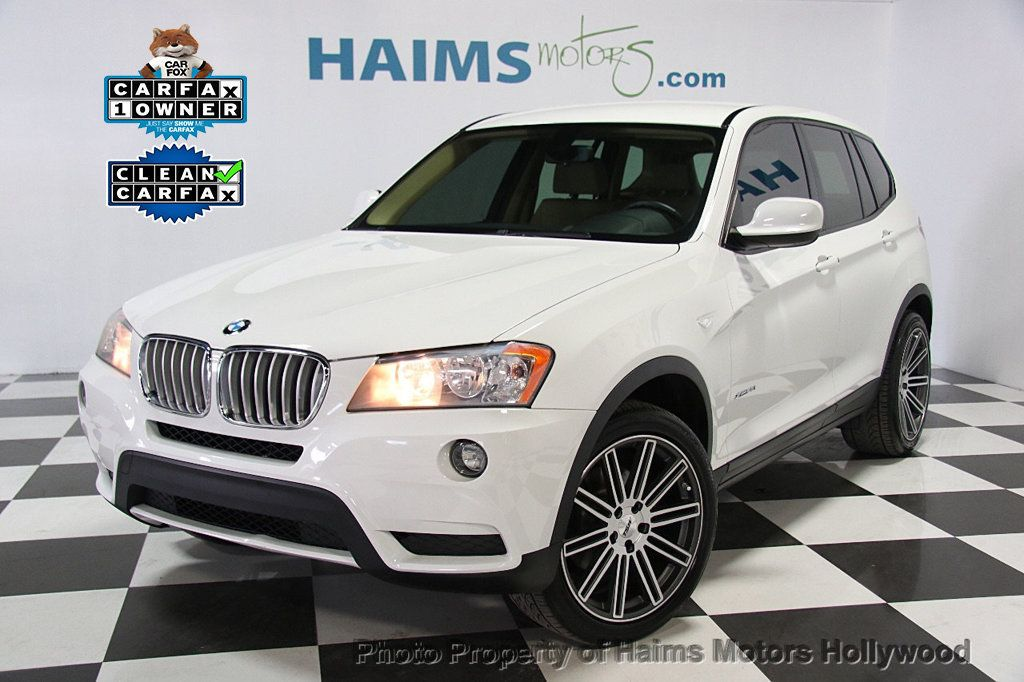 2014 Used Bmw X3 X3 Xdrive28i At Haims Motors Serving Fort Lauderdale Hollywood Miami Fl Iid