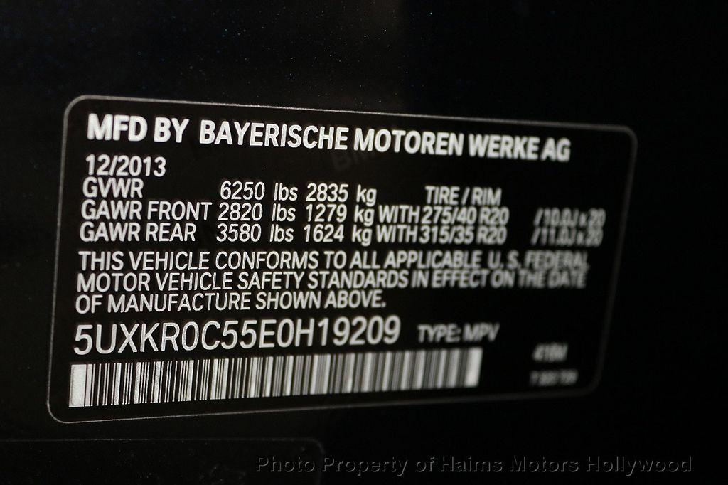 2014 BMW X5 xDrive35i - 17916131 - 39