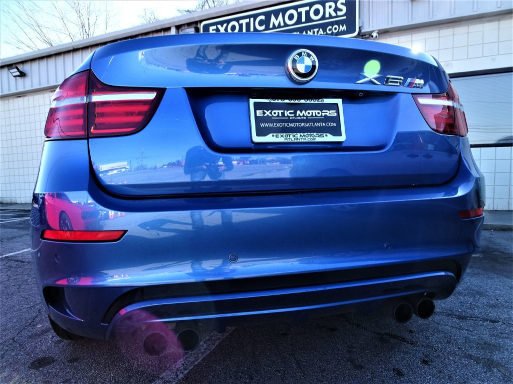 2014 Used BMW X6 M 1 OWNER HEADS UP DISP REAR TV ENT REAL X6M RARE COLOR At Exotic Motors Atlanta Serving Gainesville GA IID