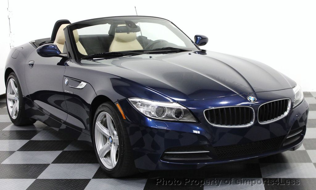 2014 used bmw z4 certified z4 sdrive28i roadster 6 speed. Black Bedroom Furniture Sets. Home Design Ideas