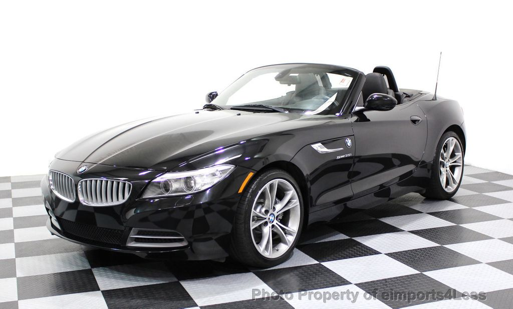 2014 BMW Z4 CERTIFIED Z4 sDRIVE35i ROADSTER NAVIGATION - 16774903 - 0