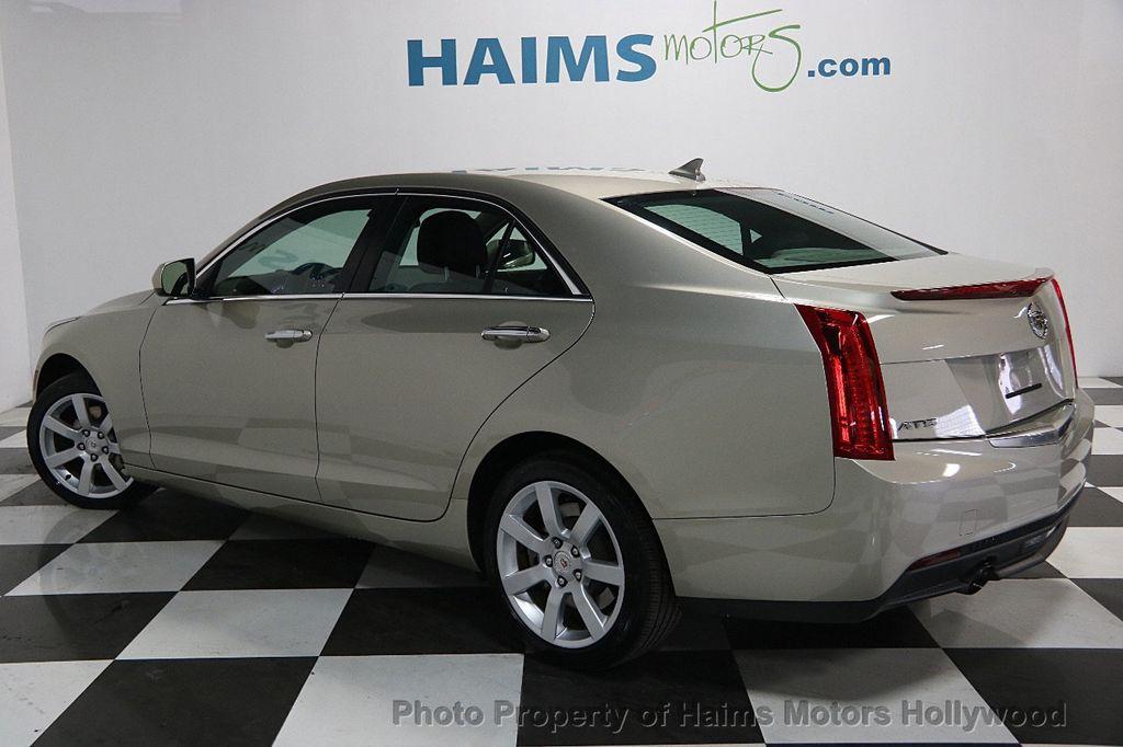 Used Cadillac Ats >> 2014 Used Cadillac ATS 4dr Sedan 2.0L RWD at Haims Motors Serving Fort Lauderdale, Hollywood ...