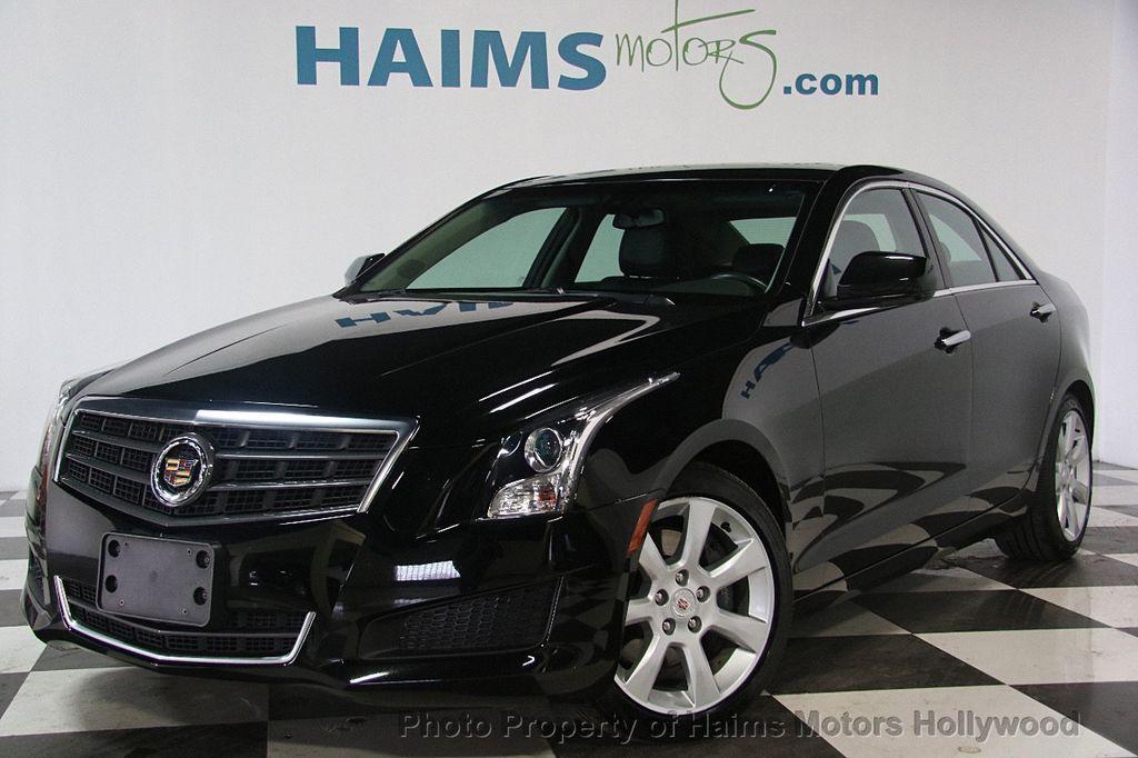 Used Cadillac Ats >> 2014 Used Cadillac ATS 4dr Sedan 2.0L RWD at Haims Motors ...