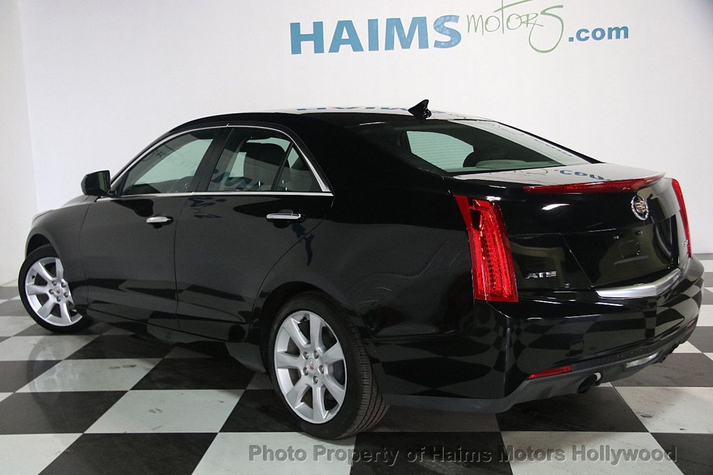 2014 used cadillac ats 4dr sedan 2 0l rwd at haims motors serving fort lauderdale hollywood. Black Bedroom Furniture Sets. Home Design Ideas