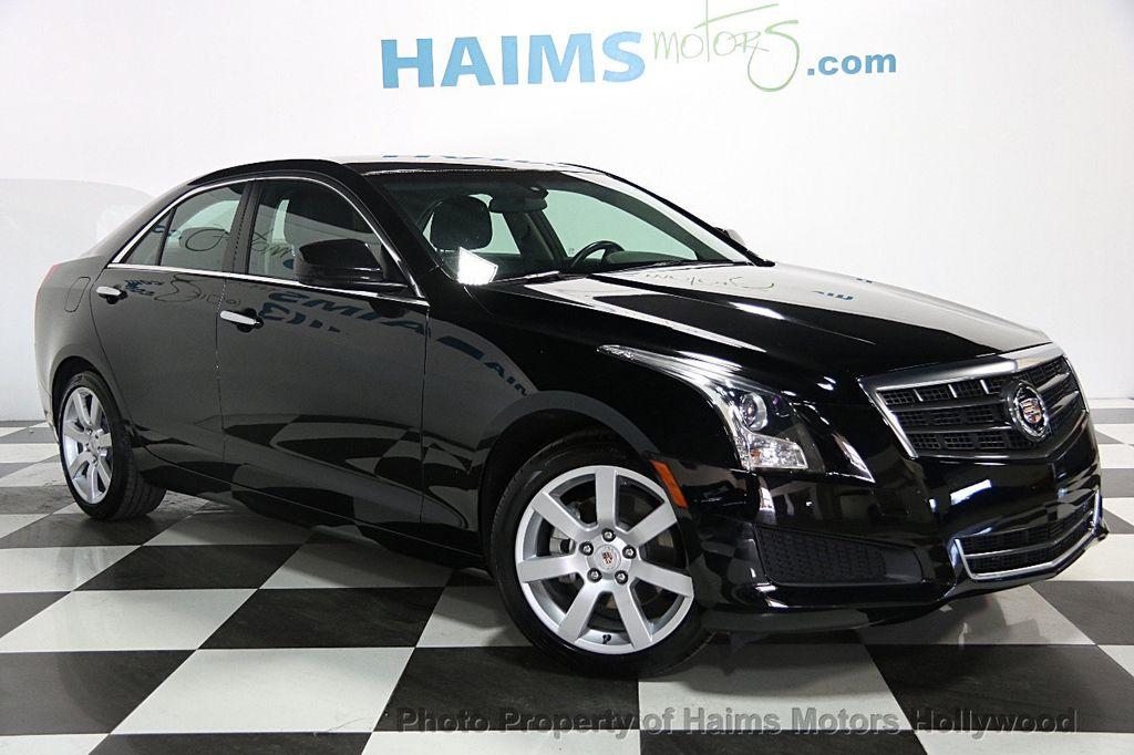 2014 Used Cadillac ATS 4dr Sedan 2.0L Standard RWD at Haims Motors