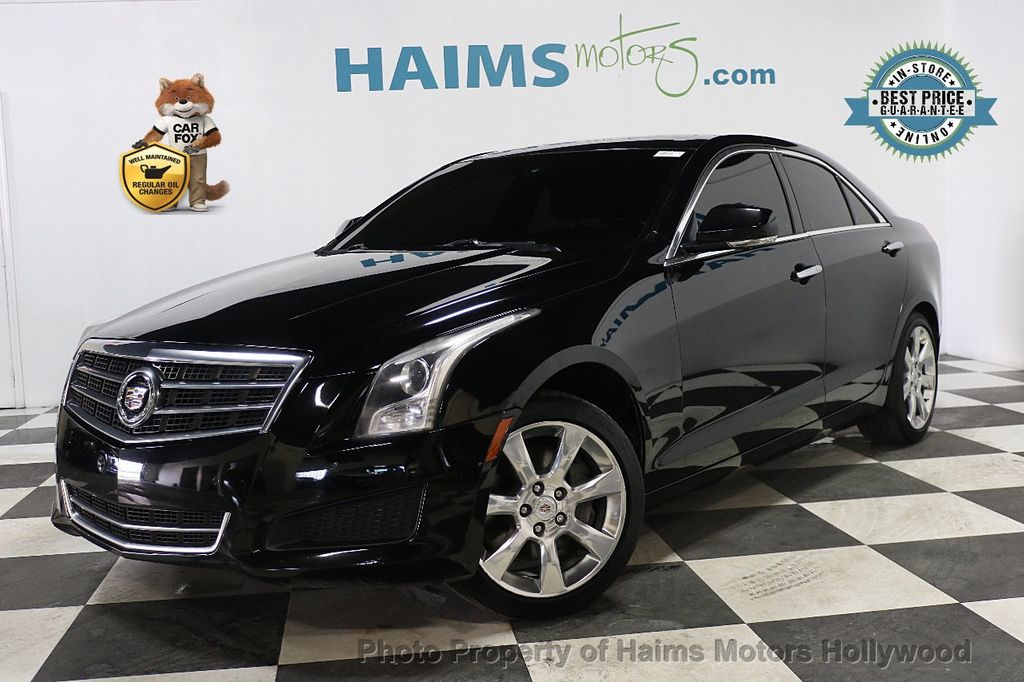 2014 Cadillac ATS 4dr Sedan 2.5L Luxury RWD - 17862634 - 0