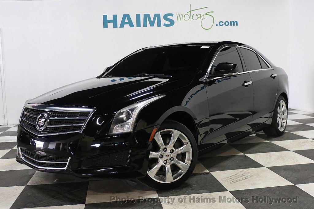 2014 Cadillac ATS 4dr Sedan 2.5L Luxury RWD - 17862634 - 1