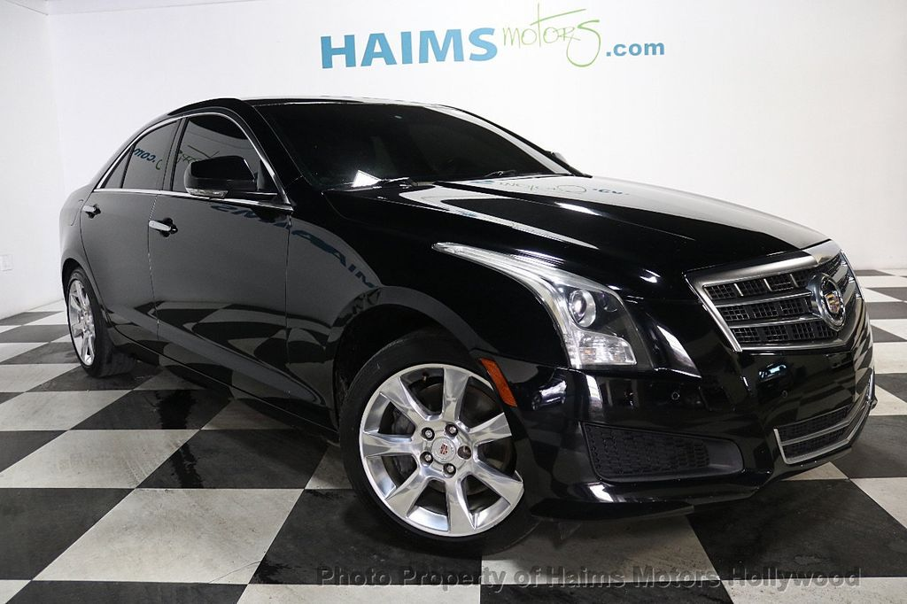 2014 Cadillac ATS 4dr Sedan 2.5L Luxury RWD - 17862634 - 3