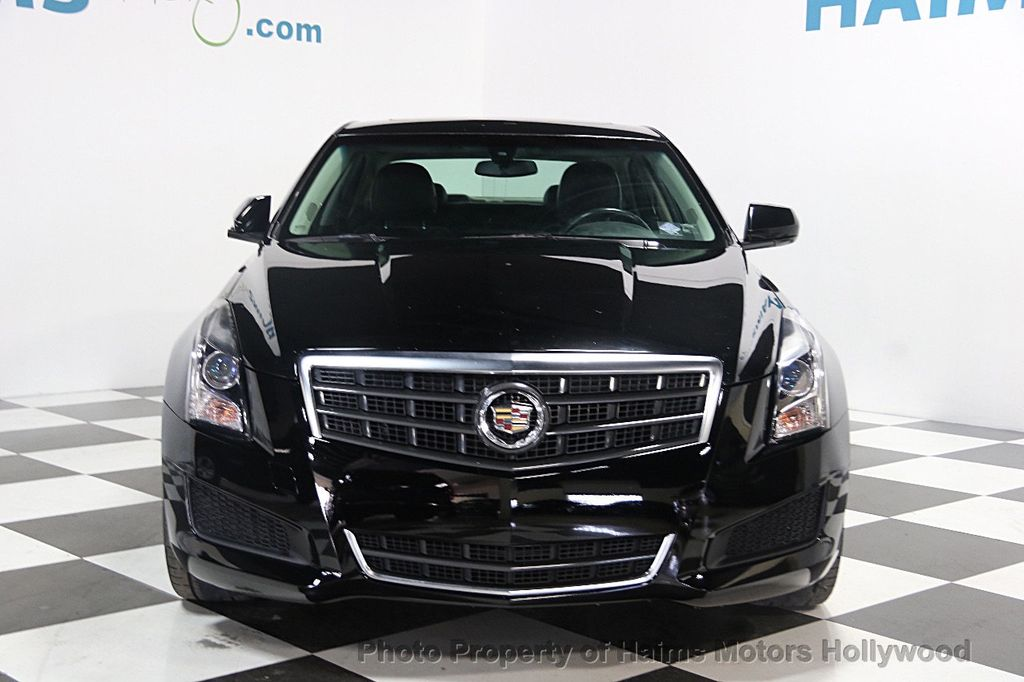 2014 used cadillac ats 4dr sedan 2 5l rwd at haims motors hollywood serving fort lauderdale. Black Bedroom Furniture Sets. Home Design Ideas