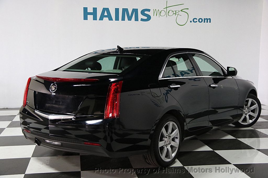 2014 used cadillac ats 4dr sedan 2 5l rwd at haims motors serving fort lauderdale hollywood. Black Bedroom Furniture Sets. Home Design Ideas