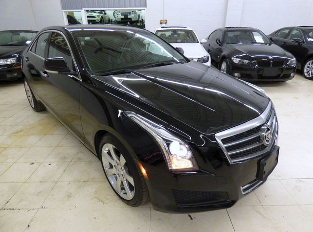 2014 Cadillac ATS 4dr Sedan 3.6L Luxury RWD - Click to see full-size photo viewer