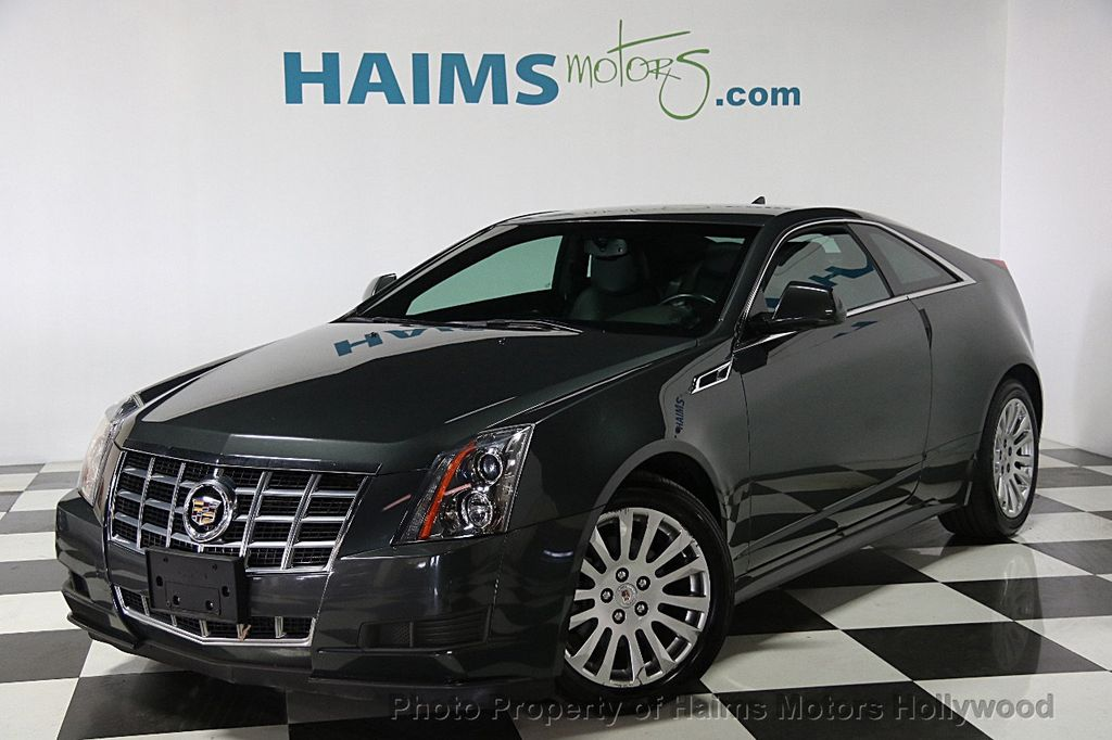 2014 used cadillac cts coupe 2dr coupe awd at haims motors serving fort lauderdale hollywood. Black Bedroom Furniture Sets. Home Design Ideas