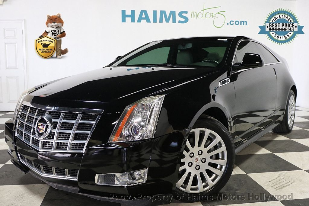 2014 Cadillac CTS Coupe 2dr Coupe Performance RWD - 17858515 - 0