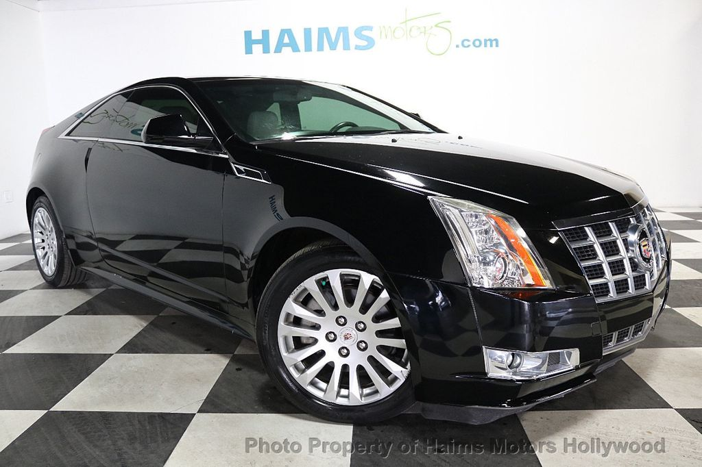 2014 Cadillac CTS Coupe 2dr Coupe Performance RWD - 17858515 - 3
