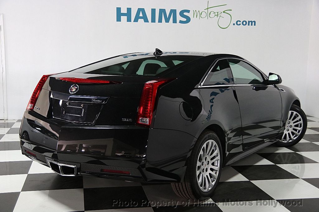 2014 used cadillac cts coupe 2dr coupe rwd at haims motors serving fort lauderdale hollywood. Black Bedroom Furniture Sets. Home Design Ideas