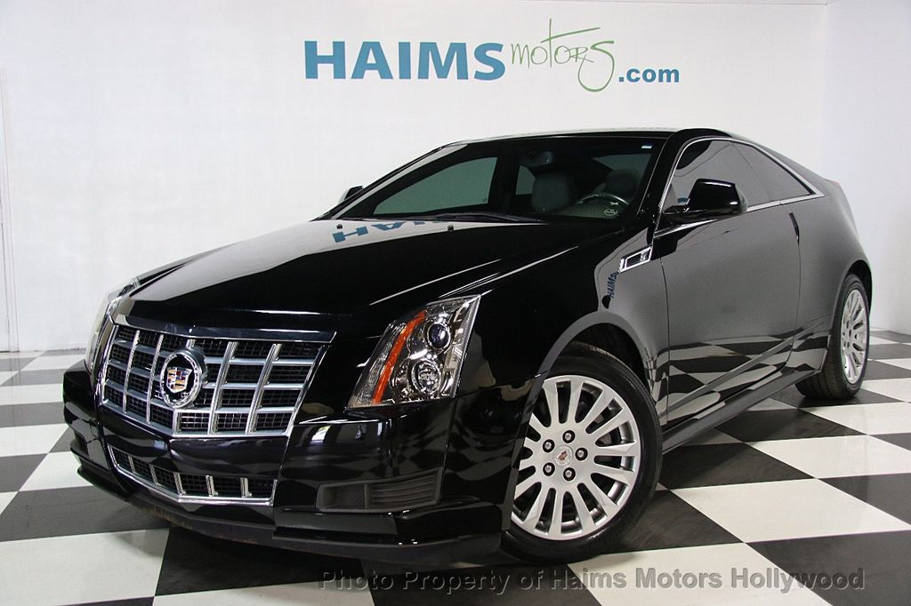 Used Cadillac Cts Coupe >> 2014 Used Cadillac CTS Coupe 2dr Coupe RWD at Haims Motors Hollywood Serving Fort Lauderdale ...