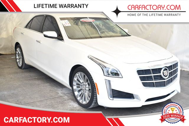 2014 Cadillac CTS Sedan 4dr Sedan 2.0L Turbo Luxury RWD