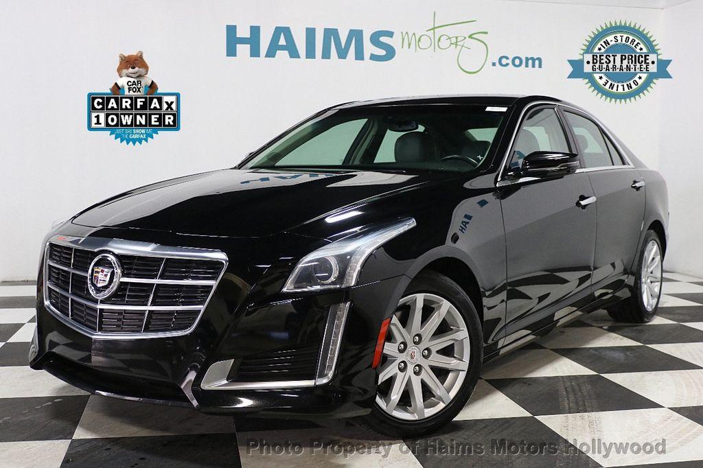 2014 Cadillac CTS Sedan 4dr Sedan 2.0L Turbo RWD - 17823722 - 0