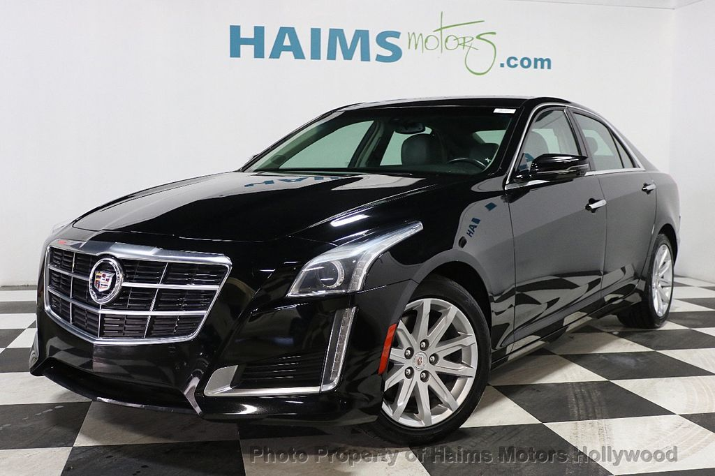 2014 Cadillac CTS Sedan 4dr Sedan 2.0L Turbo RWD - 17823722 - 1