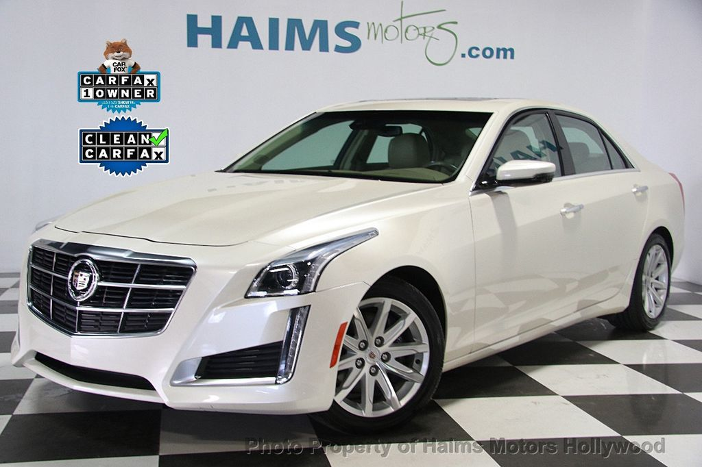 2014 Cadillac CTS Sedan 4dr Sedan 3.6L Luxury RWD - 16956978 - 0