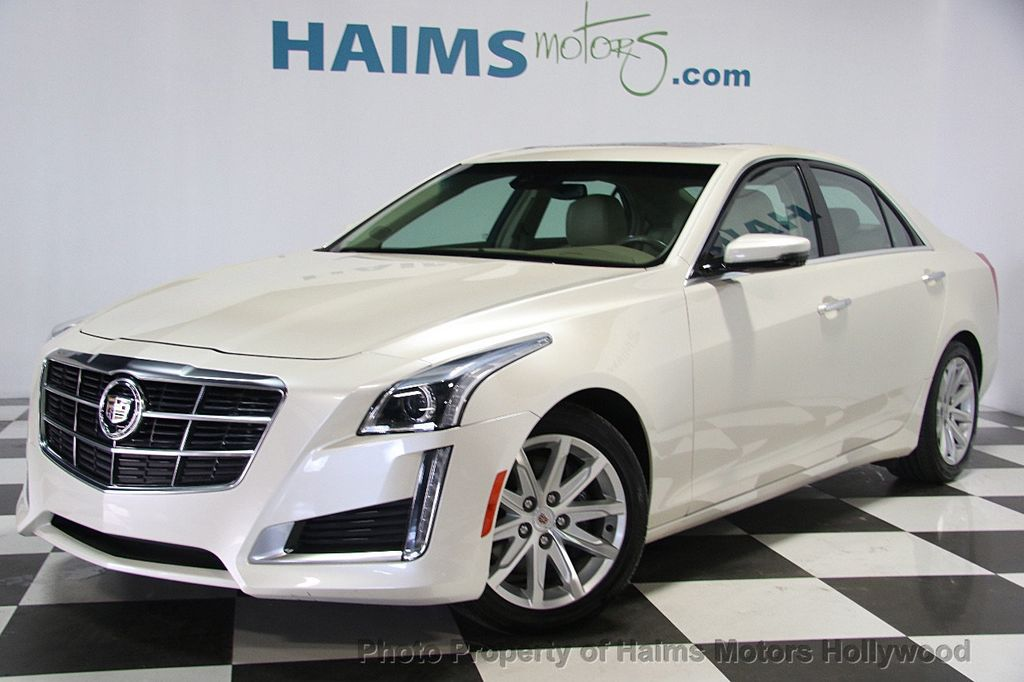 2014 Cadillac CTS Sedan 4dr Sedan 3.6L Luxury RWD - 16956978 - 1