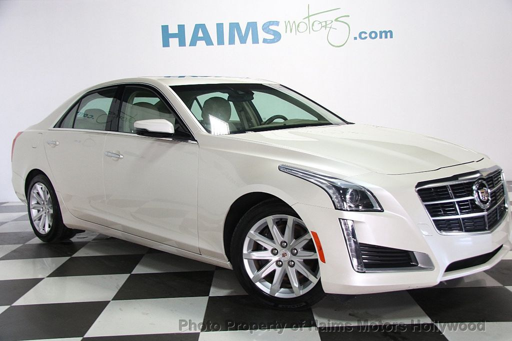 2014 Cadillac CTS Sedan 4dr Sedan 3.6L Luxury RWD - 16956978 - 3