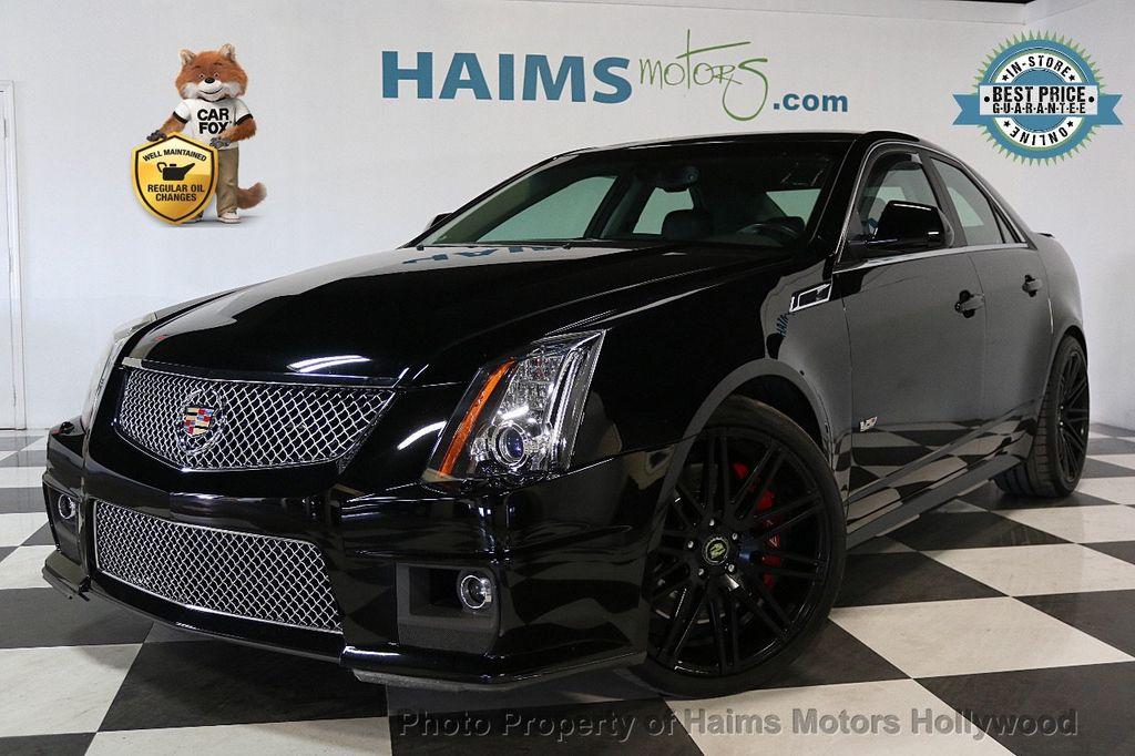 2014 Used Cadillac Cts V Sedan 4dr Sedan At Haims Motors Serving
