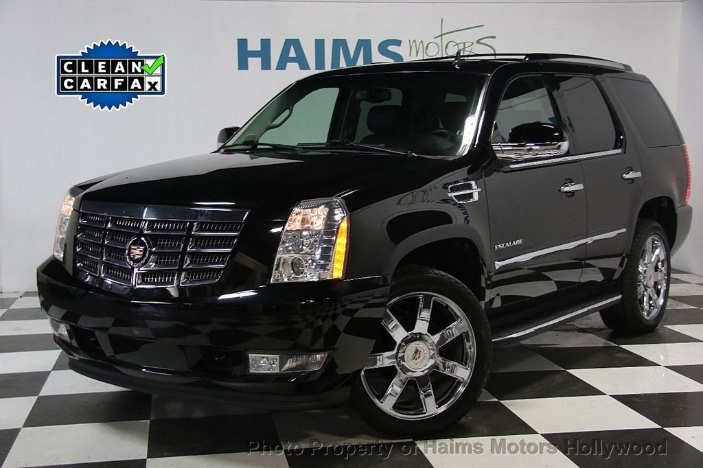 2014 used cadillac escalade 2wd 4dr luxury at haims motors serving fort lauderdale hollywood. Black Bedroom Furniture Sets. Home Design Ideas