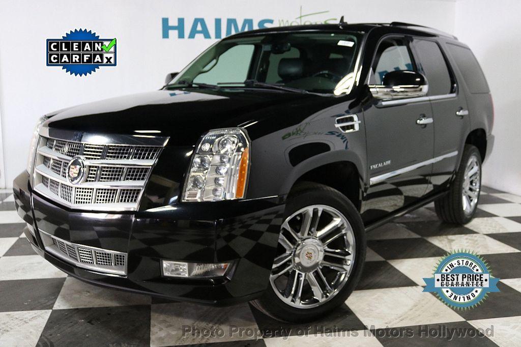 2014 Used Cadillac Escalade 2wd 4dr Platinum At Haims Motors Serving