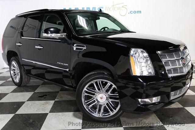 2014 Cadillac Escalade 2wd 4dr Platinum Suv For Sale Hollywood Fl