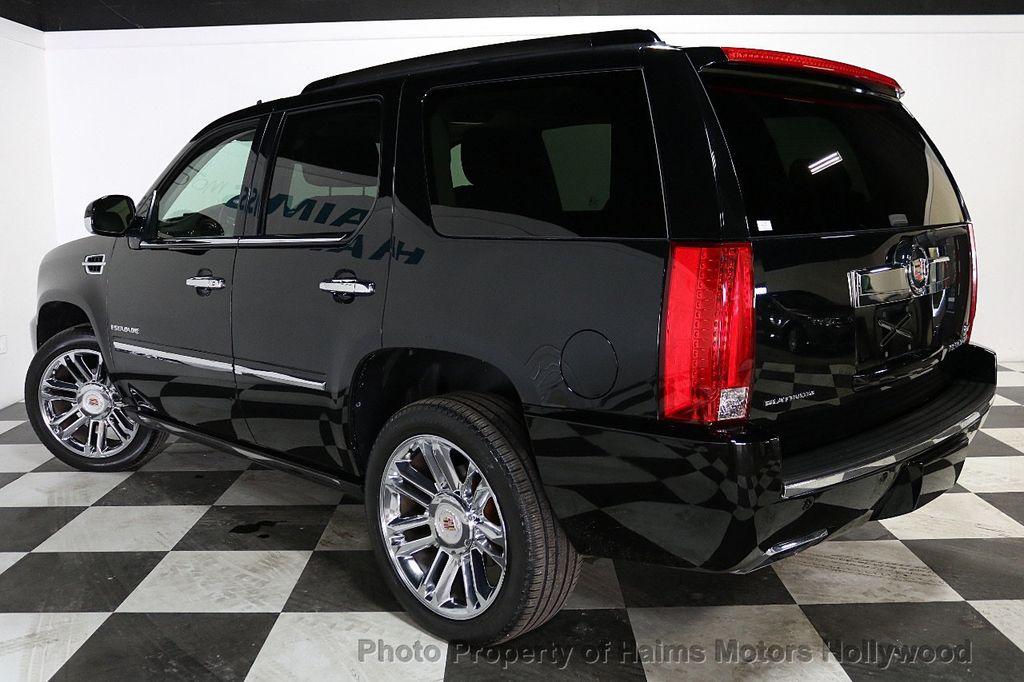 2014 Cadillac Escalade 2WD 4dr Platinum - 18216396 - 4