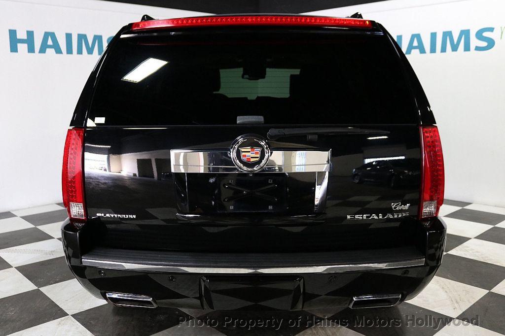 2014 Cadillac Escalade 2WD 4dr Platinum - 18216396 - 5