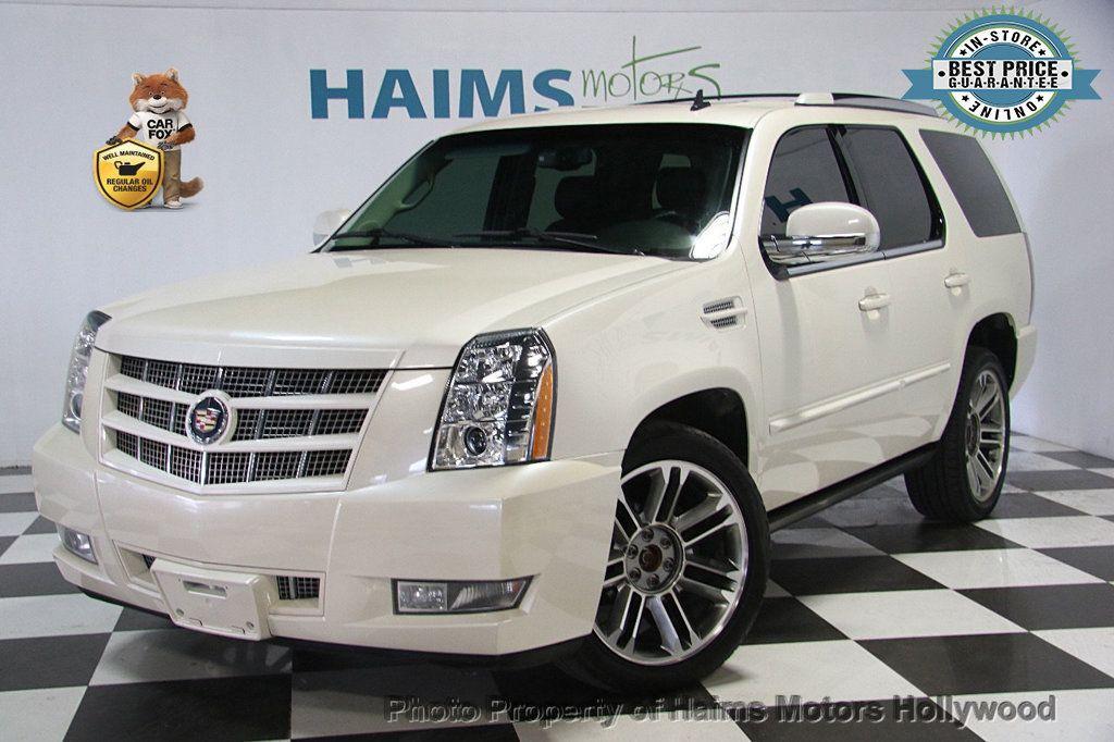 2014 Used Cadillac Escalade Awd 4dr Premium At Haims Motors Serving