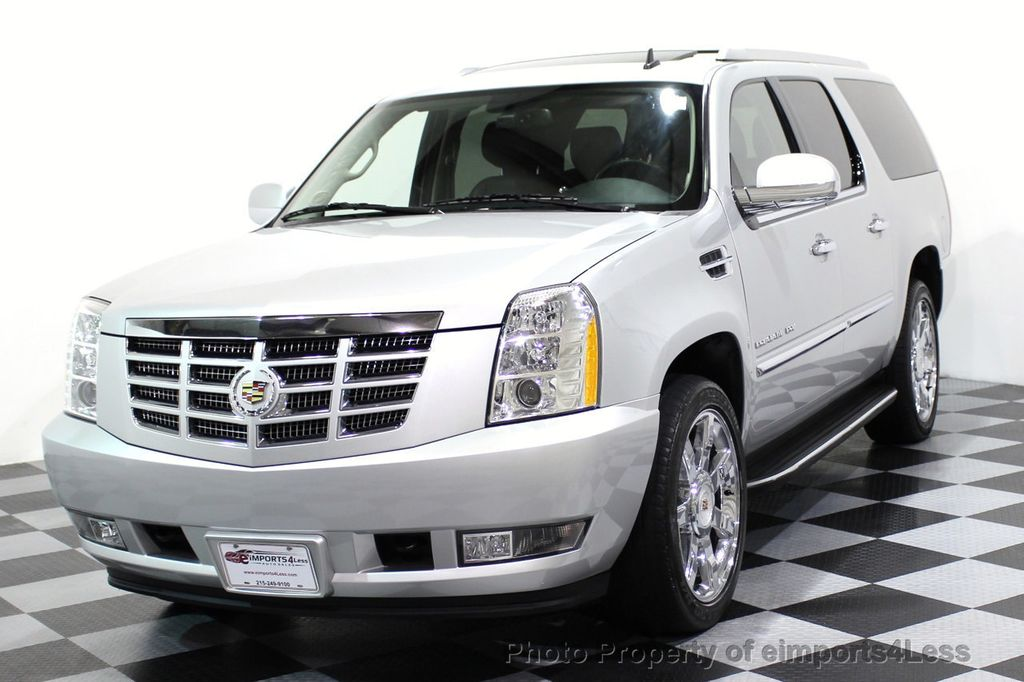 2014 Cadillac Escalade ESV CERTIFIED ESCALADE ESV AWD LUXURY CAMERA DVD NAVI - 16876157 - 0