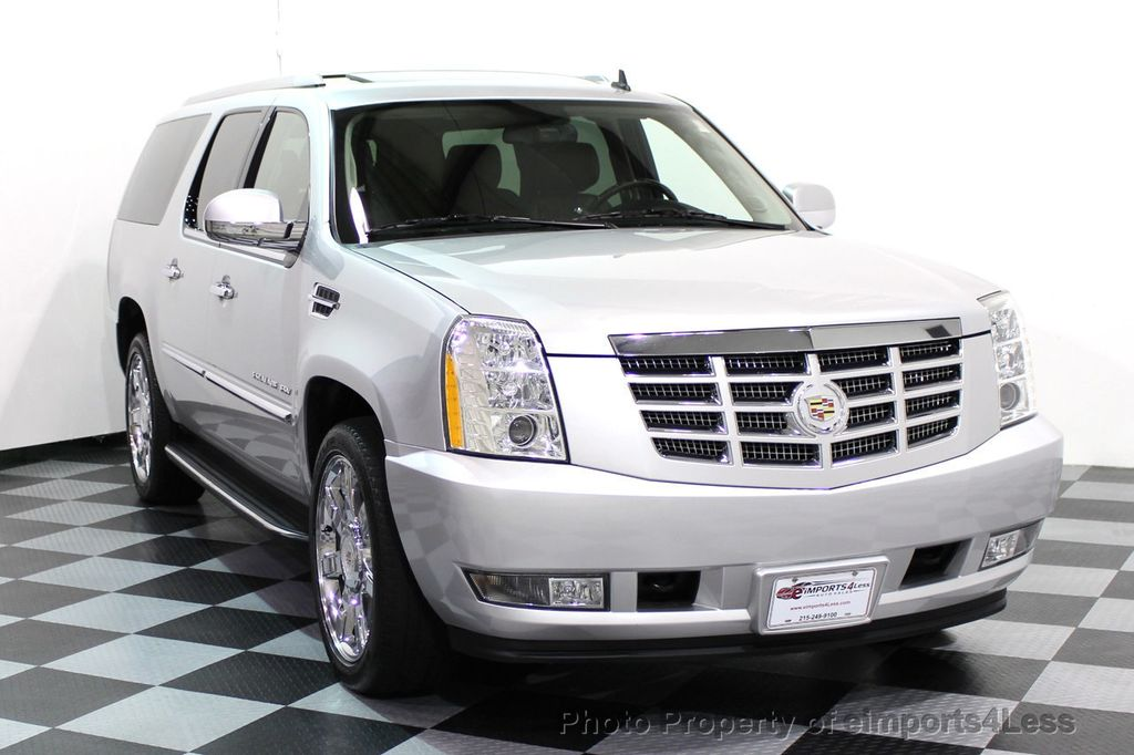2014 Cadillac Escalade ESV CERTIFIED ESCALADE ESV AWD LUXURY CAMERA DVD NAVI - 16876157 - 1