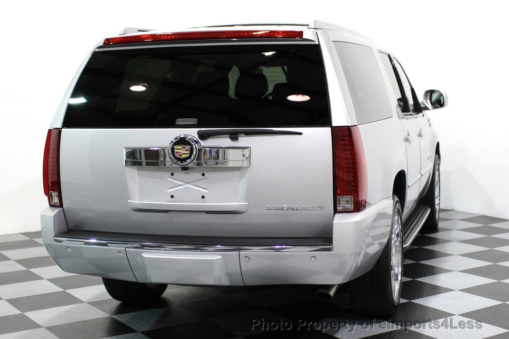 2014 Cadillac Escalade ESV CERTIFIED ESCALADE ESV AWD LUXURY CAMERA DVD NAVI - 16876157 - 30