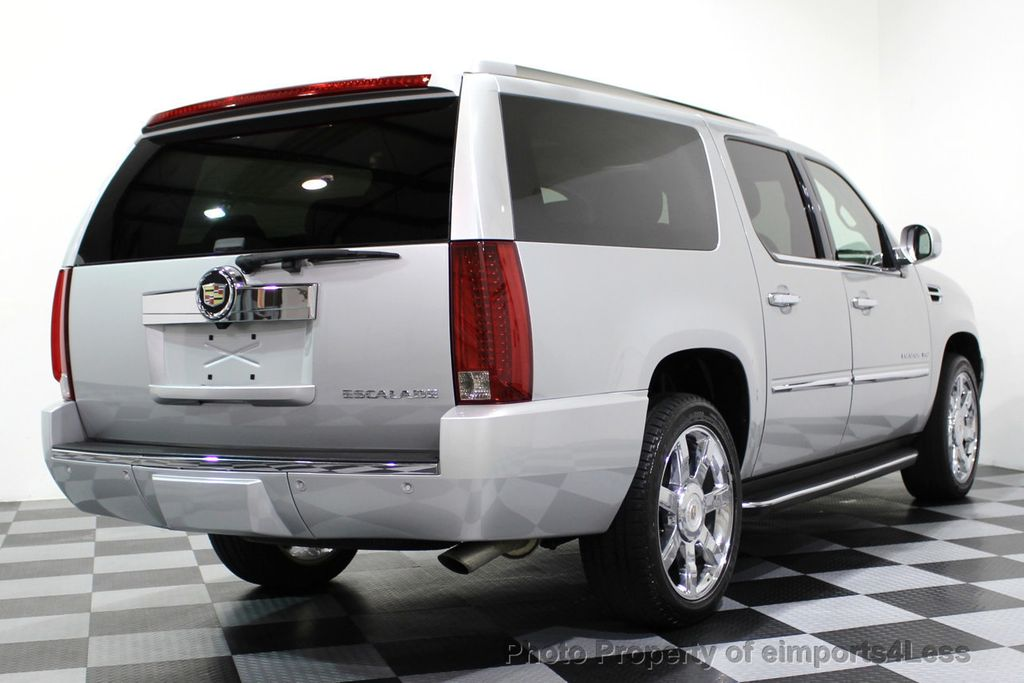 2014 Cadillac Escalade ESV CERTIFIED ESCALADE ESV AWD LUXURY CAMERA DVD NAVI - 16876157 - 44