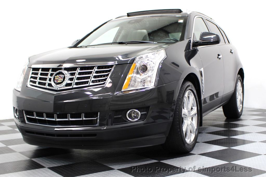 2014 Used Cadillac Srx Certified Srx4 Awd Performance Camera