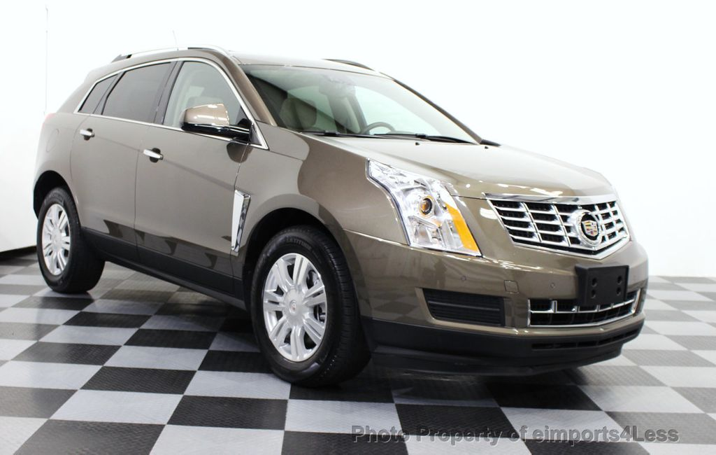 2014 Used Cadillac Srx Certified Srx Luxury Collection Awd