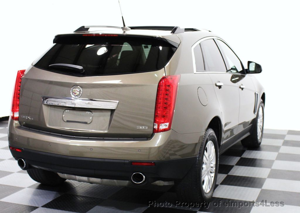 2014 Used Cadillac Srx Certified Srx Luxury Collection Awd Suv Cam