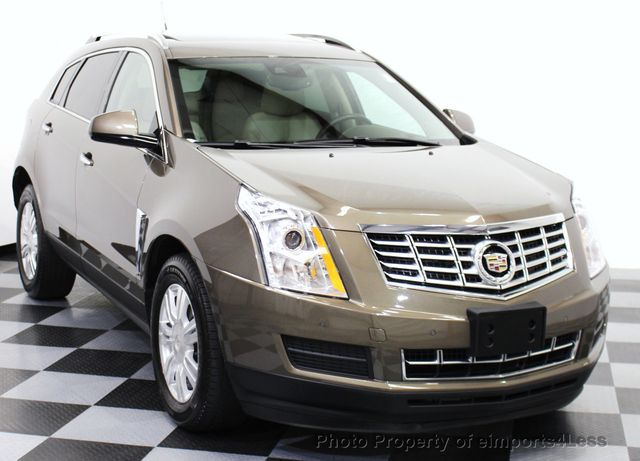 2014 Used Cadillac SRX CERTIFIED SRX LUXURY COLLECTION AWD ...