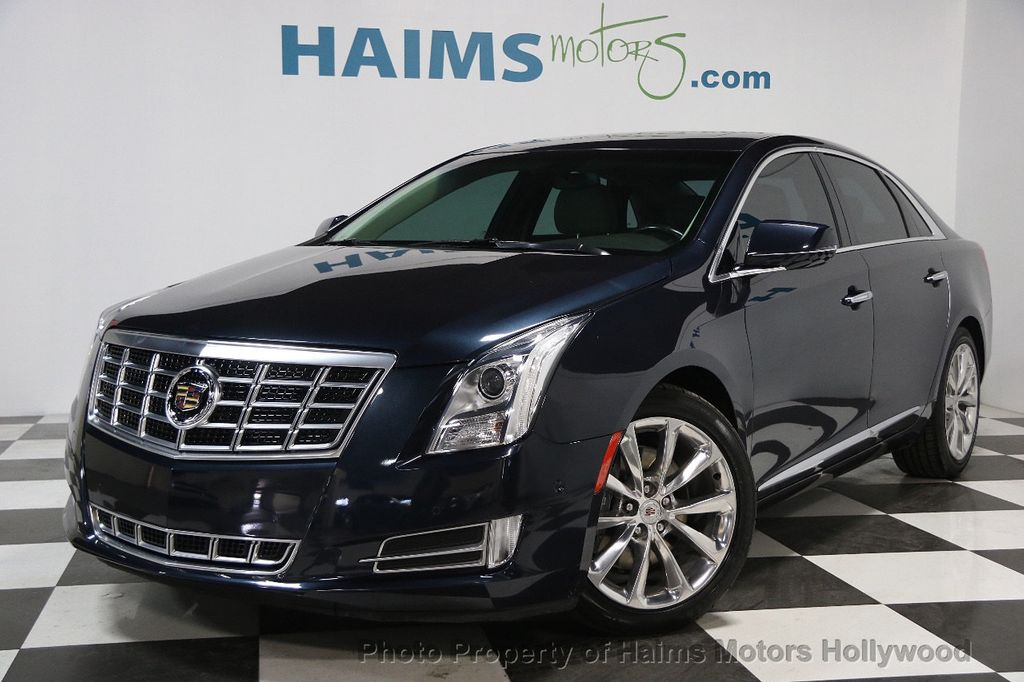 2014 used cadillac xts 4dr sedan luxury fwd at haims motors hollywood serving fort lauderdale. Black Bedroom Furniture Sets. Home Design Ideas
