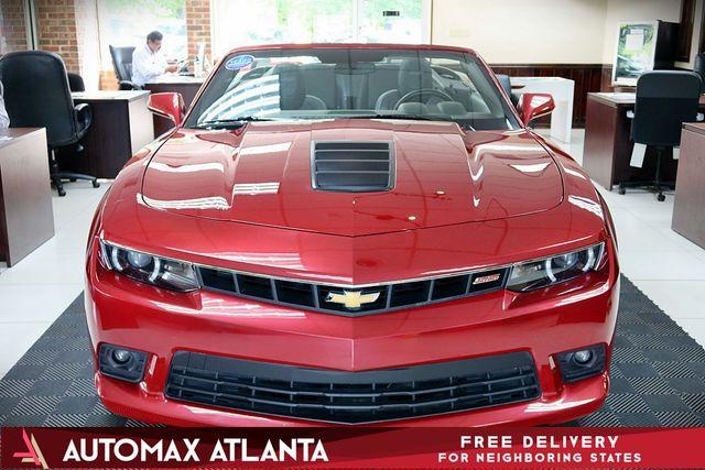 Atlanta Used Cars Lilburn >> 2014 Used Chevrolet Camaro 2dr Convertible SS w/2SS at ...