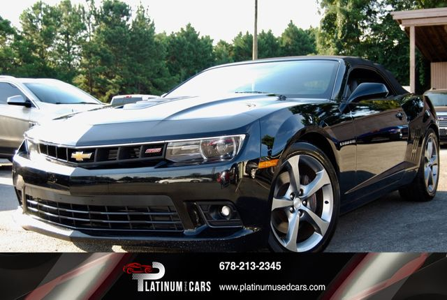 2014 Used Chevrolet Camaro 2dr Convertible Ss W 2ss At Platinum Used Cars Serving Alpharetta Ga Iid 19223552