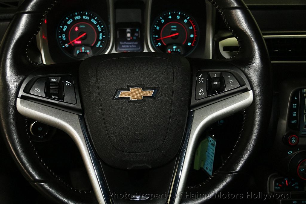 2014 Chevrolet Camaro 2dr Coupe SS w/2SS - 16906382 - 24