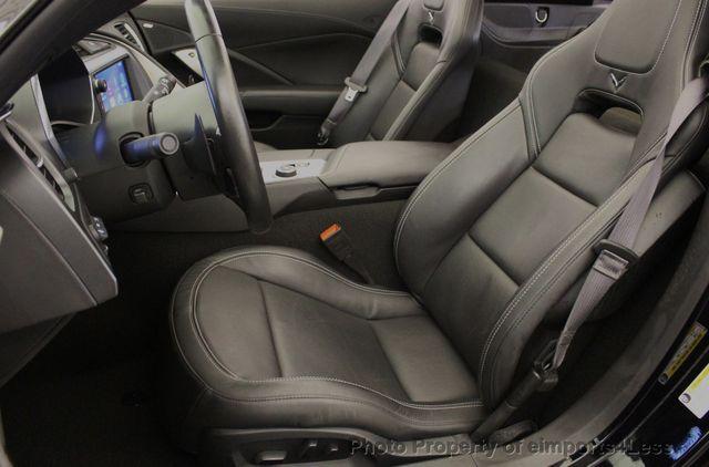 2014 Chevrolet Corvette CERTIFIED CORVETTE 2LT ZF1 CAMERA NAVIGATION - 18051539 - 36