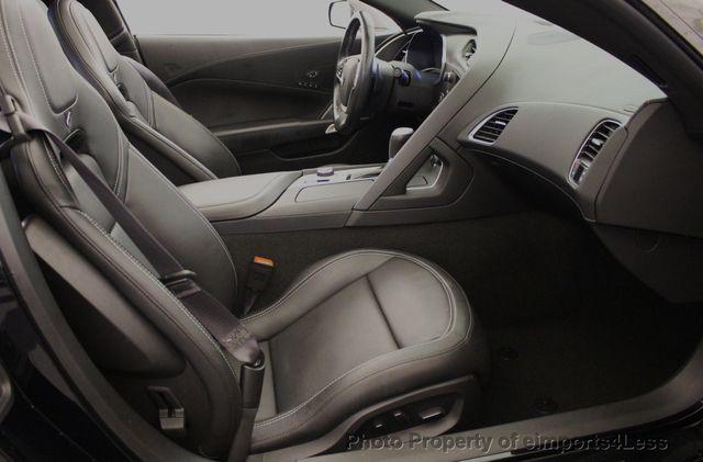 2014 Chevrolet Corvette CERTIFIED CORVETTE 2LT ZF1 CAMERA NAVIGATION - 18051539 - 37