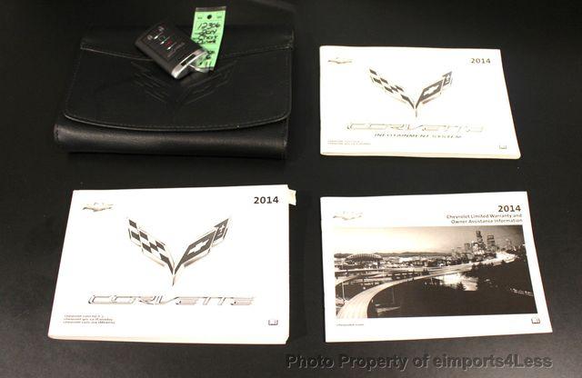 2014 Chevrolet Corvette CERTIFIED CORVETTE 2LT ZF1 CAMERA NAVIGATION - 18051539 - 38